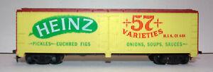 Vintage HO Scale TYCO ~ Heinz 57 Varieties ~ Woodside Reefer / Boxcar # 484