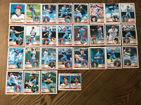 1983 MINNESOTA TWINS Topps COMPLETE Baseball Team SET 28 Cards HRBEK VIOLA WARD!