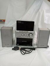 New listing Panasonic Sa-Pm533 Am Fm Radio 5 Cd Changer Cassette Deck Tested