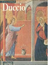 L'OPERA COMPLETA DI DUCCIO RIZZOLI 1981 CLASSICI DELL'ARTE 60