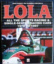 LOLA ALL THE SPORTS RACING & SINGLE-SEATER RACING CARS 1978 - 1997 CAR BOOK