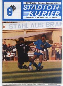 II. BL 91/92 BSV Stahl Brandenburg - Eintracht Braunschweig, 19.10.1991