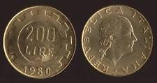 200 LIRE 1980 - ITALIA
