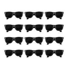 12pk Black KIDS Sunglasses Props Costumes Summer Beach Party Favors