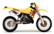 SUZUKI RM250 N 1992 RM 250 > FULL SET SINTERED FRONT & REAR BRAKE PADS *GOLDFREN