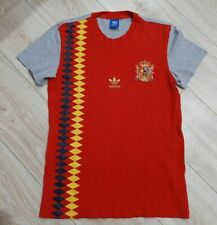 Adidas Large Retro Cotton T-shirt Spain National