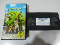 Shrek 2 - Dreamworks - VHS Cinta Tape Castellano