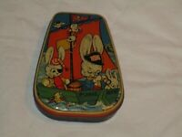 Vintage 1950s Horner's Boy Blue Toffee  Candy Tin