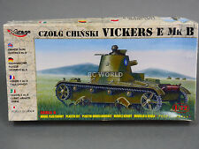 1/72 Mirage Hobby CZOLG CHINSKI VICKERS E MK B  Model Tank Kit #d2