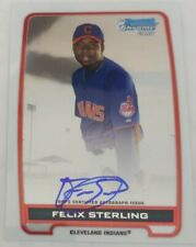 Felix Sterling First Year auto 2012 Bowman Chrome Prospects (M9)