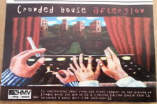 CROWDED HOUSE Afterglow magazine ADVERT/Poster/Clipping 8x6 inches