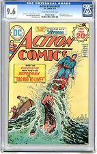 Action Comics #439  CGC 9.6  NM+  off white to white pages