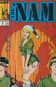 'Nam, The #23 VG; Marvel | low grade comic - save on shipping - details inside