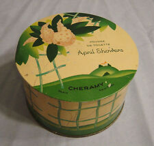 Cheramy  April Showers  Poudre de Toilette  tin
