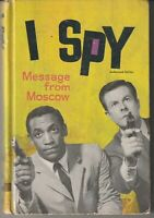 "I Spy ""Message From Moscow"" Whitman TV Book 1966"