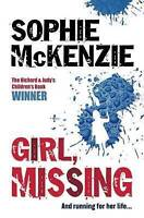 Girl, Missing, McKenzie, Sophie, Very Good Book