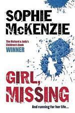 Girl, Missing, Sophie McKenzie   Paperback Book   Acceptable   9781416917328