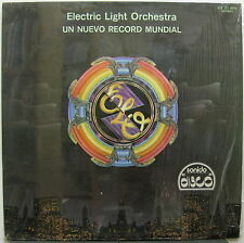 ELO Un Nuevo Record Mundial 1977 MEXICO LP Jeff Lynne ELECTRIC LIGHT ORCHESTRA