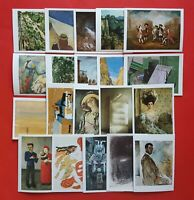 Set of 20 Different Art Postcards Whistler Corinth, Cezanne, Vernet, Picasso NEW