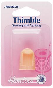 Hemline Multi-Size Adjustable Thimble