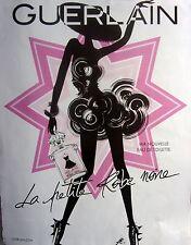 publicité de presse  PARFUM LA PETITE ROBE NOIRE  de GUERLAIN  2013  ref. 31009