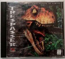 Jurassic World Trespasser 1998 Dreamworks Interactive PC Game CD-ROM 3D Gaming