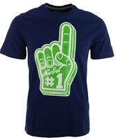 New Era Branded Originals Foam Finger Navy & Green T-Shirt $30 Size L
