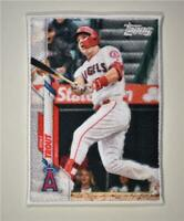2020 Update Boxloader Patch Relic #BP-MT Mike Trout - Angels