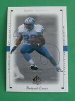 BARRY SANDERS 1999 Upper Deck SP Authentic #28 Detroit Lions