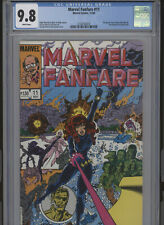 MARVEL FANFARE #11 MT 9.8 CGC WHITE PAGES JO DUFFY STORIES PEREZ COVER AND ART