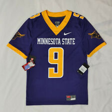 Men's Nike NCAA Minnesota State Univ #9 Adam Thielen Football Game Jersey Purple