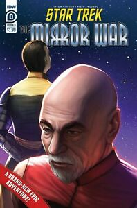 Star Trek Mirror War #0 Ejiwa Edge Ebenebe Variant IDW 2021