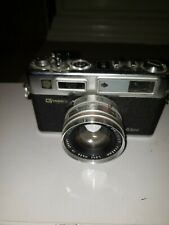 Vintage G Yashica Electro 35 GSN Film Camera w/1:1.7 f=45mm Lens Wide Angle.   B