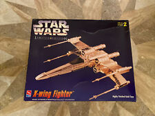 AMT ERTL Star Wars X-Wing Fighter Limited Edition Gold Tone Model Kit 1995