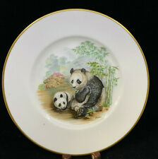 Lenox Collectors Plate Edward Marshall Boehm Giant Panda Bamboo 1982 Peace NoBox