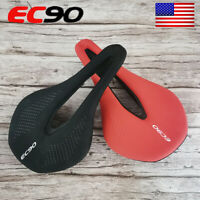 EC90 Gel Soft Leather Saddle Comfortable Cushions MTB Bike Racing Bike Seat US