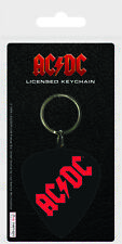 Official Rubber Keychain AC/DC Red Logo-Stationery