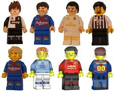 Custom LEGO minifigure Any 19-20 Season Player Messi Ronaldo Your Name UV Print