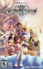 PS2 - KINGDOM HEARTS 2 - SQUARE ENIX - MANUEL EN FRANCAIS