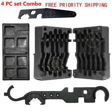 NEW 4PC Set M4/AR15 All in One Upper Lower Vise Block Wrench Armorer's Tool Kit