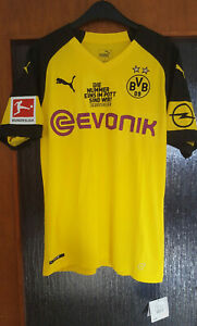 BVB Borussia Dortmund Trikot 18/19 Puma M Sancho 7 DERBYSIEGER