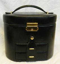 Black Leather Jewellery Box - Very Classy Piece (A)