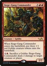 Siege-Gang Commander FOIL Duel Decks Anthology: Elves vs. Goblins NM-M ABUGames