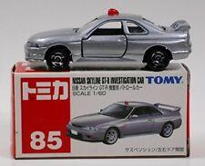 Tomica 85 Nissan Skyline GT-R operation for patrol car (R33) sacks box