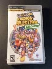 Capcom Classics Collection [ Reloaded ] (PSP) NEW