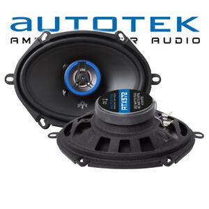 Autotek ATX-572 2-Wege Ovalado 13x18cm Engatusar Altavoz 5'x7' Cajas Par 180W