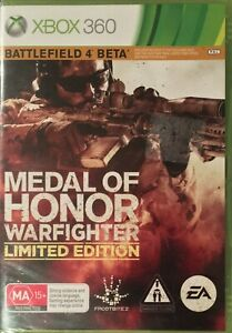 Medal of Honor Warfighter Limited Edition Xbox 360 Sealed Free Postage