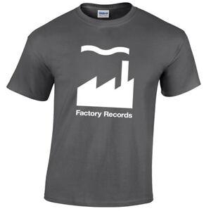 FACTORY RECORDS MENS T SHIRT RETRO ACID DRUM BASS DJ RAVE HOOLIGAN
