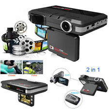 2 in1 Dash Camera Cam Recorder+Radar Laser speed Detector HD Car DVR CCTV Trafic