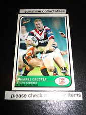 2005 SELECT NRL TRADITION CARD NO.111 MICHAEL CROCKER SYDNEY ROOSTERS